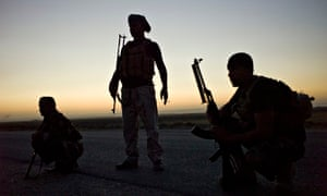 On the frontline with the Shia fighers taking the war to Isis