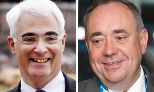Darling (left) and Salmond (right)