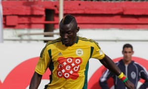 Albert Ebossé was killed by a projectile thrown from the crowd in an Algerian league match on Saturday.