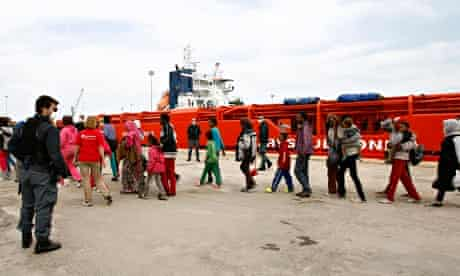Mediterranean escape route claims 260 migrants in one weekend