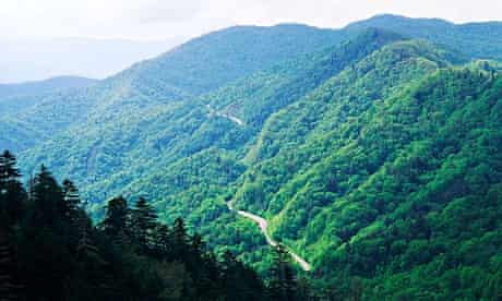 Appalachian mountain Range US