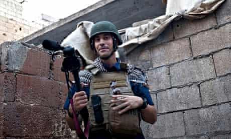 James Foley in Aleppo