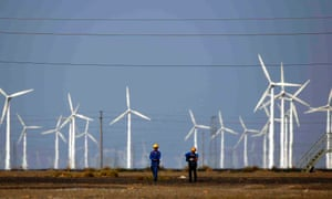 wind energy development industry industralization China carbon climate change