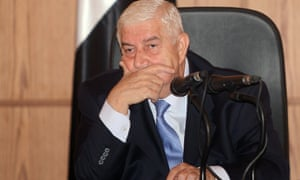 Walid al-Moallem, the Syrian foreign minister, said any battles against Isis terrorists inside Syria must be co-ordinated with the government.