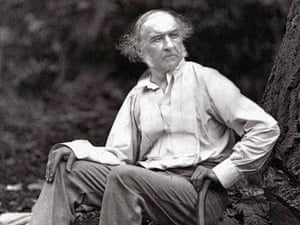 William Gladstone, the 19th century Liberal prime minister, who spent his holidays not surfing, but chopping wood.