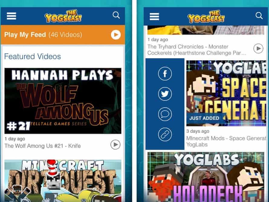 The Yogscast app.