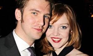 Dan Stevens and his wife Susie in 2012