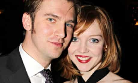Dan Stevens and his wife Susie in 2012