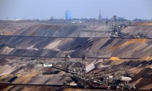 Lignite coal mine