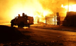 Clashes between rival militias in Tripoli