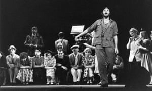 1978:  David Essex, in the role of Che in the musical 'Evita', by Andrew Lloyd-Webber and Tim Rice.
