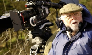 Richard Attenborough on the set of Closing the Ring (2007), his final film as director, which starred Christopher Plummer and Shirley MacLaine