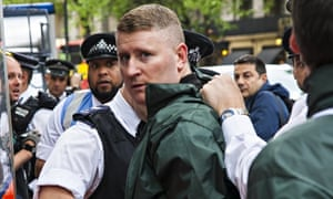 Paul Golding, leader of the Britain First party