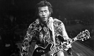 Chuck Berry on stage in 1959.