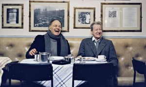 Frank Auerbach and Lucian Freud pictured in 2002