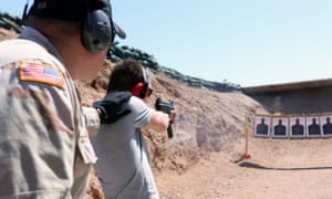 Bullets and burgers, a shooting range located on the Last Stop property