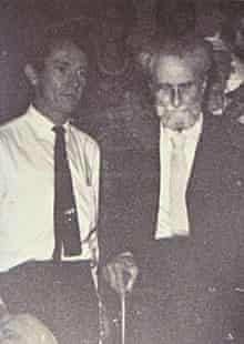 Desmond O'Grady with Ezra Pound