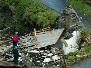 Boscastle floods