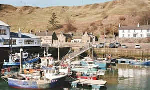 Boats in Scrabster harbour, Thurso, Caithness