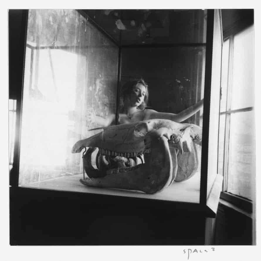 Francesca Woodman Space2, Providence, Rhode Island, 1975- 1976. Gelatin silver estate print.