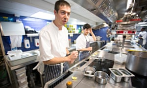 sustainable fish: Peter Weedon, head chef at Newman Street Tavern, London.