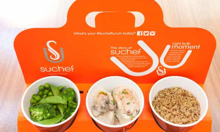 Cardboard packaging at Suchef