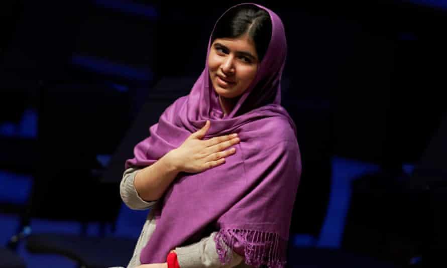 Malala Yousafzai, one of the Vienna Peace Museum's 150-plus 'peace heroes'. Photograph: Luke Macgreg