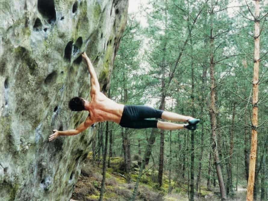 Bouldering at Fontainebleau