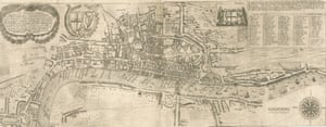 Thomas Porter. The Newest and Exactest Mapp of the most Famous Citties London and Westminster with their Suburbs; and the manner of their Streets