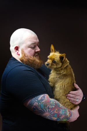 Dez Johnston, 31, theology student and security guard, from Lenzie.<br><br>'I describe my hair as highland auburn but it only appears in my beard.'<br><br>  'Strangely, no one in my family has ginger hair.  I grew up in the highlands in Speyside so maybe it came from the whisky? It's in the water!'<br><br> 'A few mates have it, and our dog Pixie, the destroyer. I wanted a dog to go with my beard! I only noticed it recently when I actually grew the beard.'<br><br>  During summer I work at festivals and it comes up bright in the sun. Like a see-you-jimmy hat. People comment <i>You have a cracking beard mate!</i><br><br>'I've never really had a problem in life with people insulting me, I can get quite fiery.'