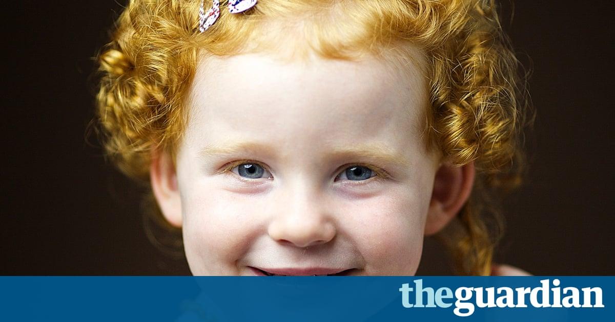 girl Scottish redhead