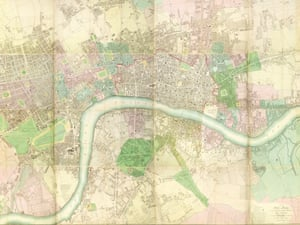 Richard Horwood. Plans of the Cities of London and Westminster, The Borough of Southwark and Parts Adjoining, Shewing Every House