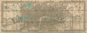 George Cruchley. New Plan of London improved to 1836