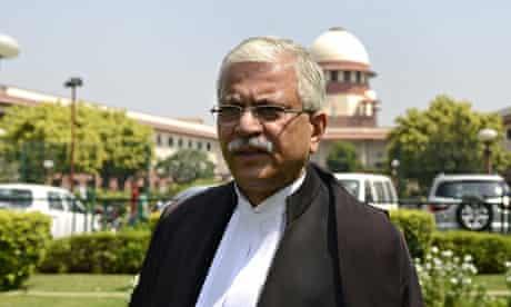 Indian lawyer Rakesh Dwivedi