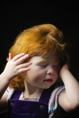 Anna Dodds, 3, from Edinburgh.'It's orange, like oranges. Daddy is orange. Its fine. Nan has it.'