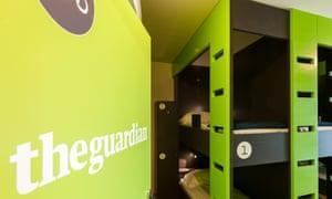 The Guardian dorm at Backstay Hostel Ghent