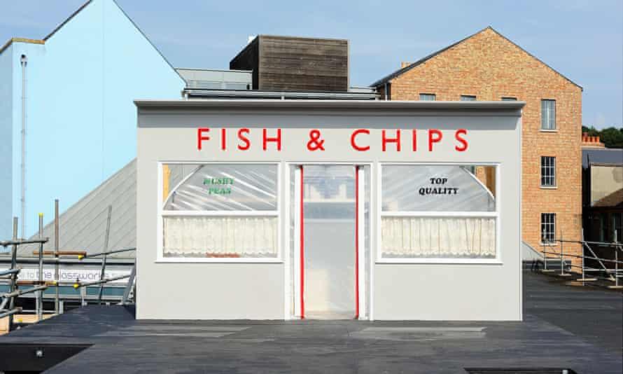 Chip shop polytunnel