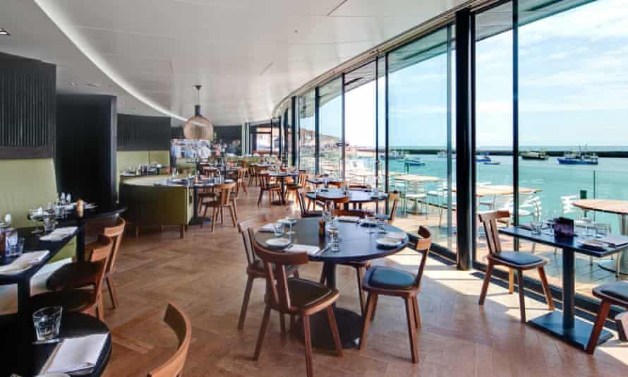 Rocksalt restaurant, Folkestone.