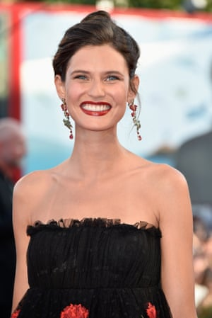 Italian model Bianca Balti shows off her most winning smile. Photograph: Pascal Le Segretain/Getty Images