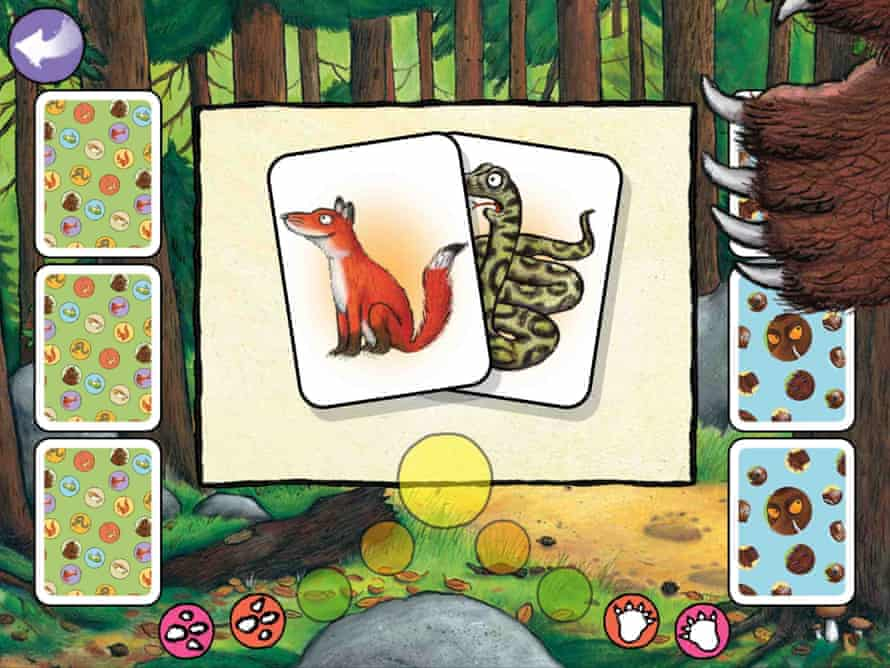 The Gruffalo is better than you'd think at playing Snap.