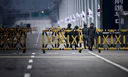 The border between South and North Korea