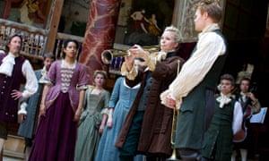 Alison Balsom in Gabriel at Shakespeare's Globe