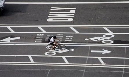 biking in DC