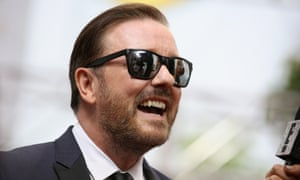 Ricky Gervais is the most influential London Twitter user according to PeerIndex.