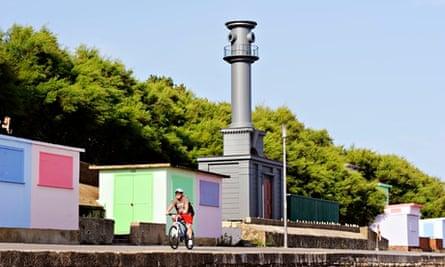 Pablo Bronstein's Beach Hut in the style of Nicholas Hawksmoor, 2014.