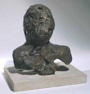 Shattered Head 1956 Sir Eduardo Paolozzi