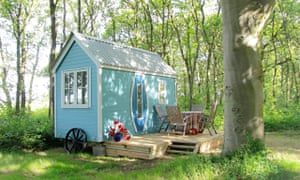 The Beech Hut near Sopley in the New Forest