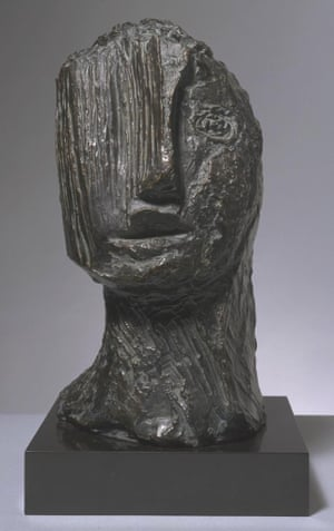 Large Tragic Head 1942