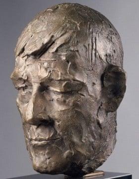 Manzu - Portrait of Oskar Kokoschka (1969)