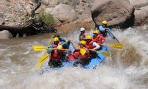 Rafting in Royal Gorge Canyon